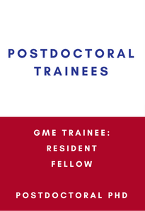 postdoctoral trainees gme trainee resident fellow postdoctoral phd link